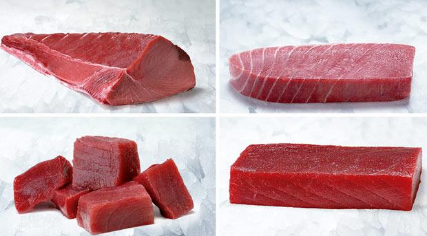 partes del atun rojo almadraba